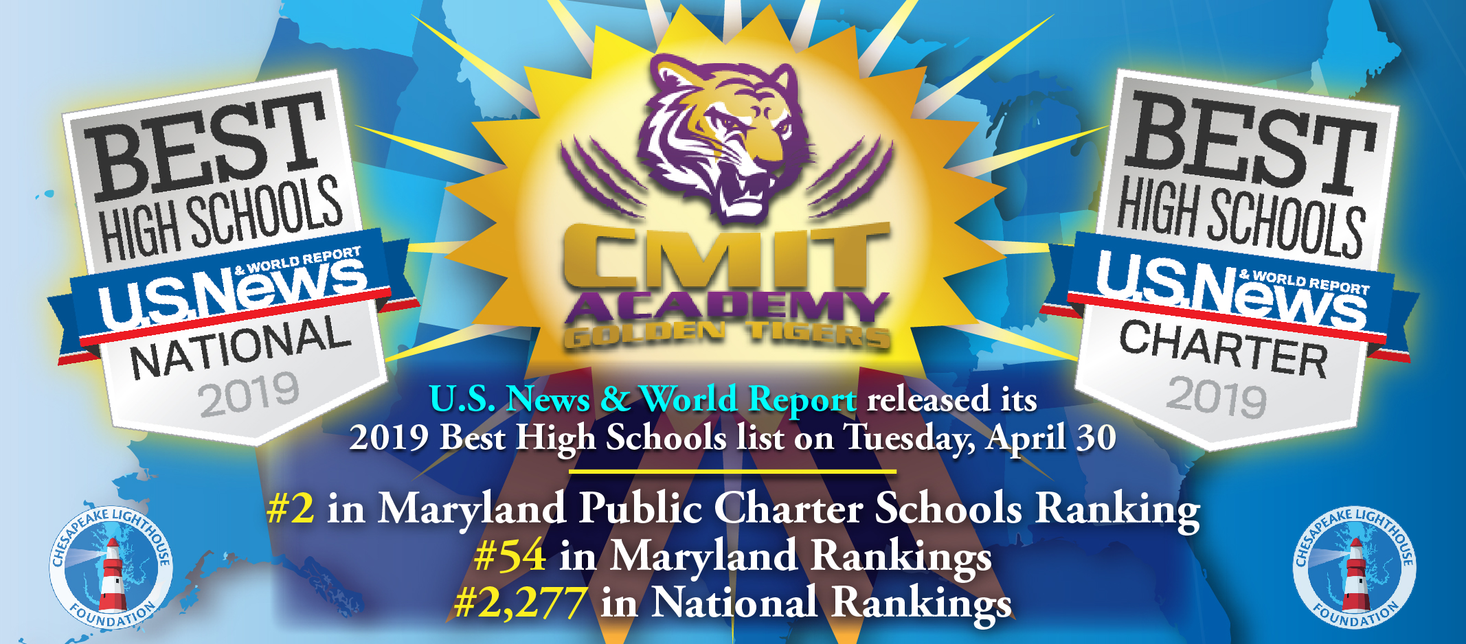 U.S. News High School Rankings Released; CMIT HS Results!