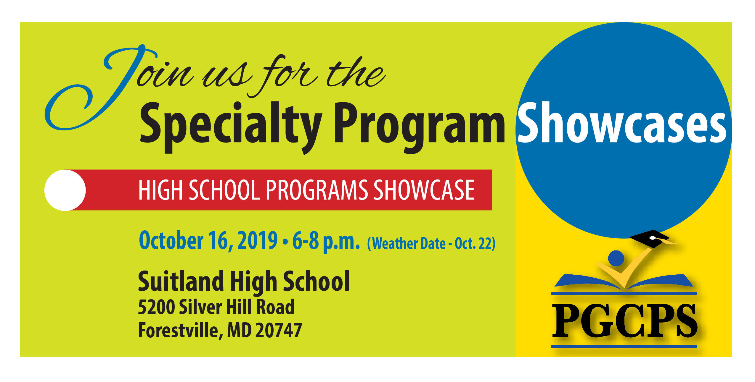 PGCPS Specialty Program Showcase