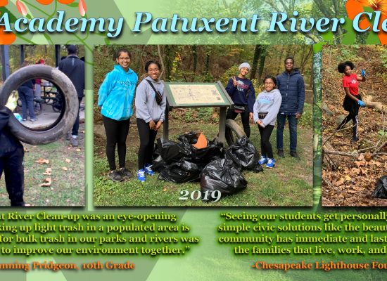 Patuxent Clean Up Day