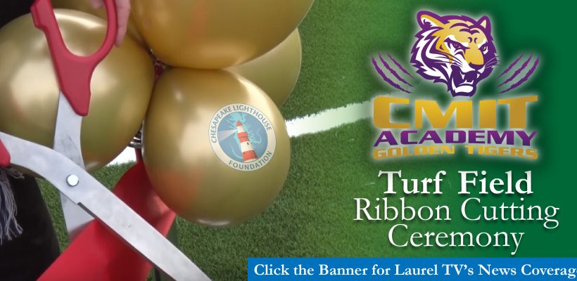 CMIT Academy North Turf Field Ribbon Cutting Ceremony