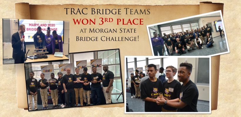 TRAC Bridge Teams won 3rd Place!