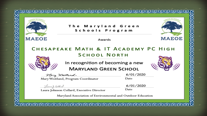 CMIT is a Green School now!!!