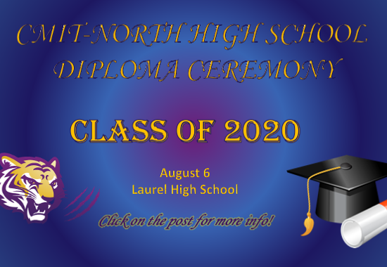 CMIT-N HIGH SCHOOL CLASS OF 2020 DIPLOMA CEREMONY