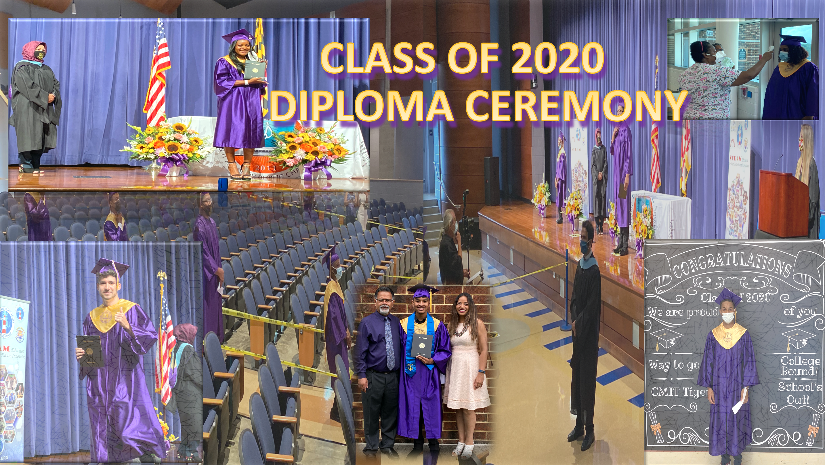 CLASS OF 2020 DIPLOMA CEREMONY