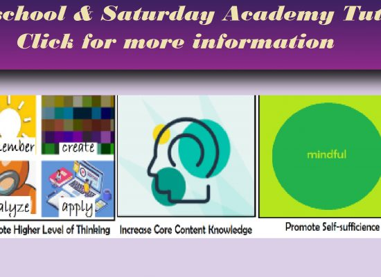 Afterschool & Saturday Academy Tutoring