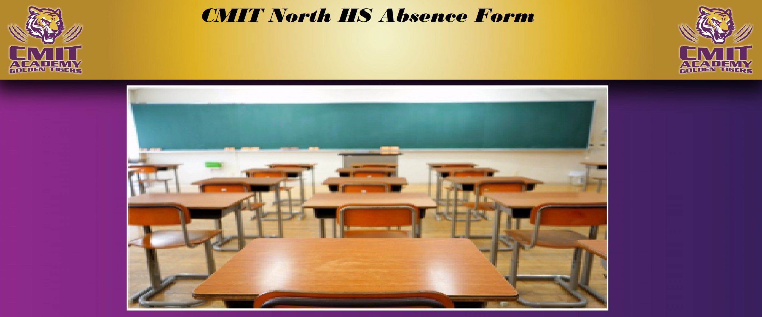 CMIT North High Schools' Absence Form