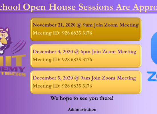 CMIT Open House Events