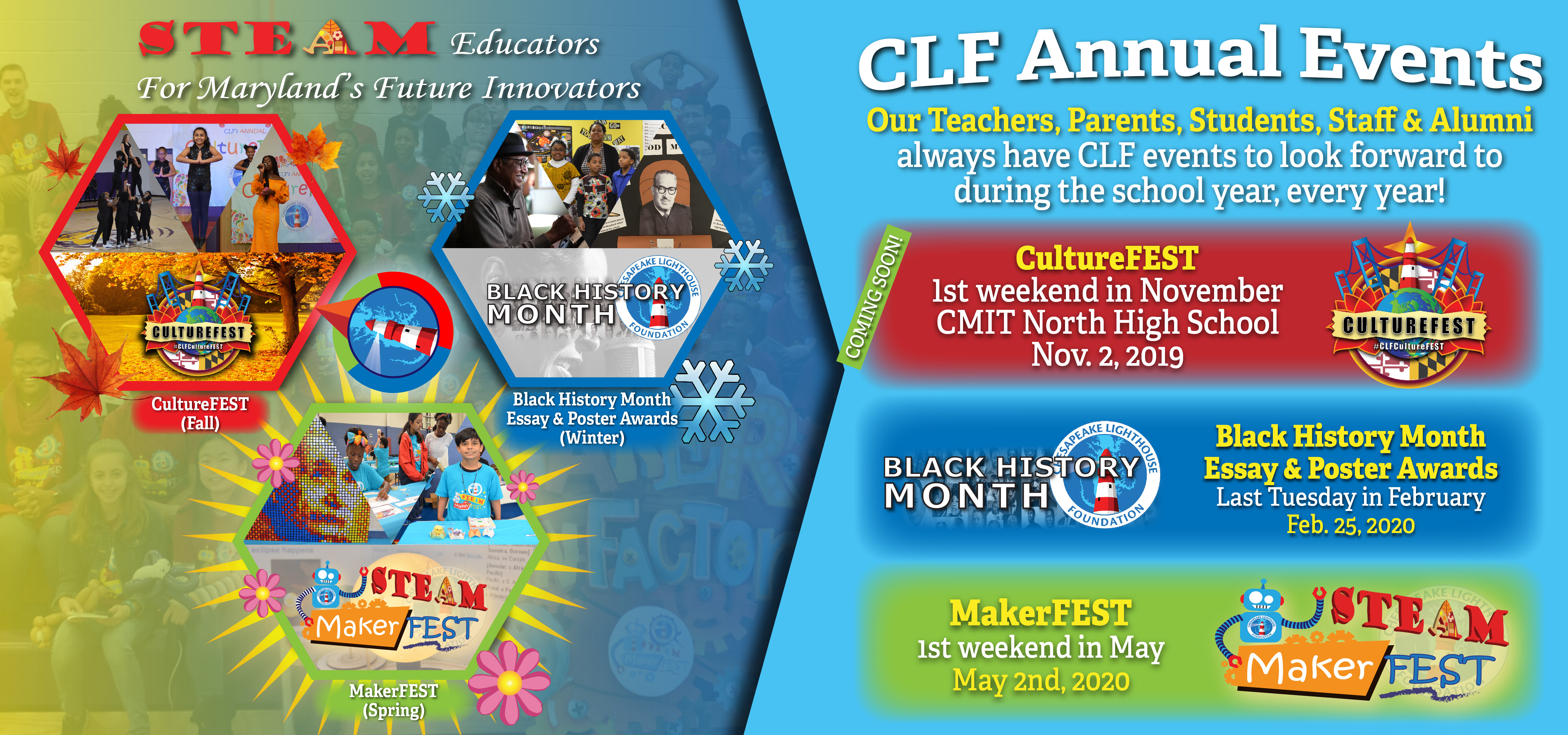 CLF Annual Events