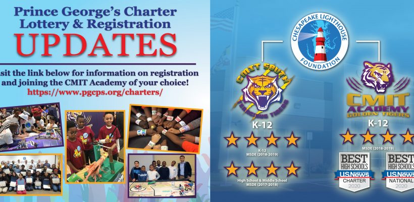 2020 -2021 PGCPS Charter Lottery & Registration Information