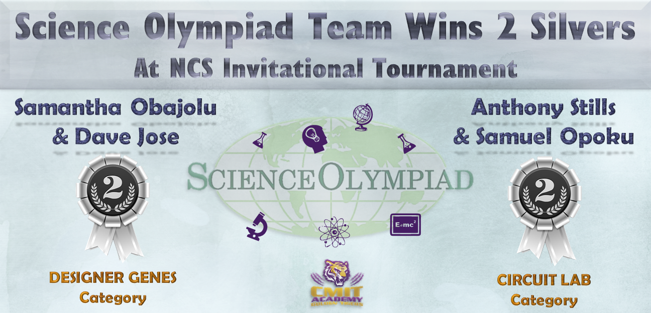 Science Olympiad Team Wins 2 Silvers At NCS Invitational Tournament