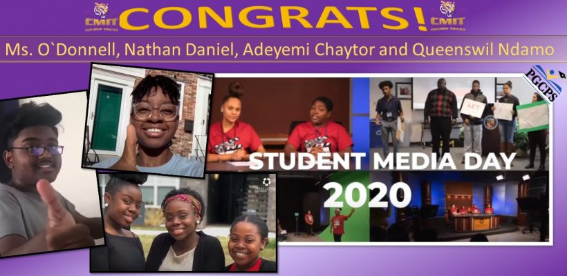 Congratulations to Ms. O`Donnell, Queenswil Ndamo, Adeyemi Chaytor and Nathan Daniel!