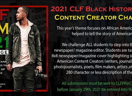 2021 CLF Black History Month Content Creator Challenge