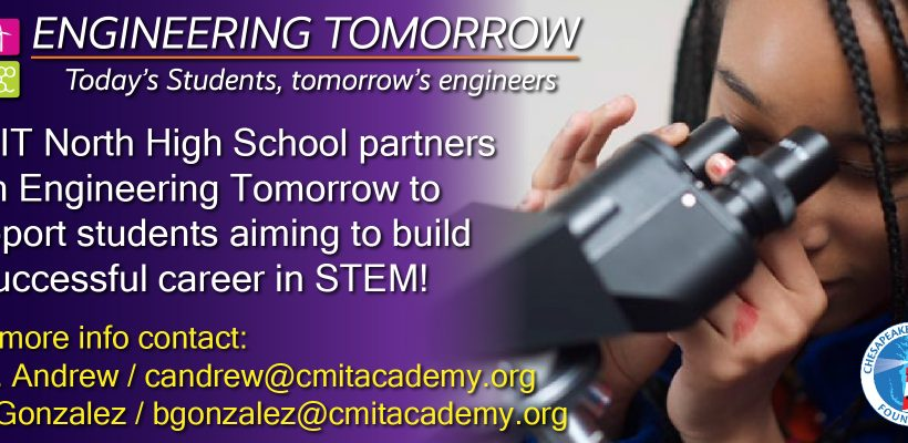 Engineering Tomorrow Partners with CMIT!