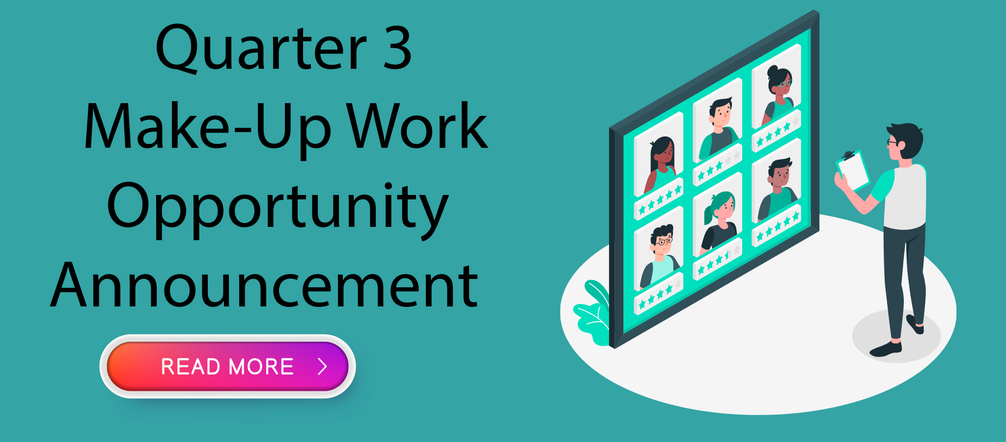Quarter 3  Make-Up Work  Opportunity