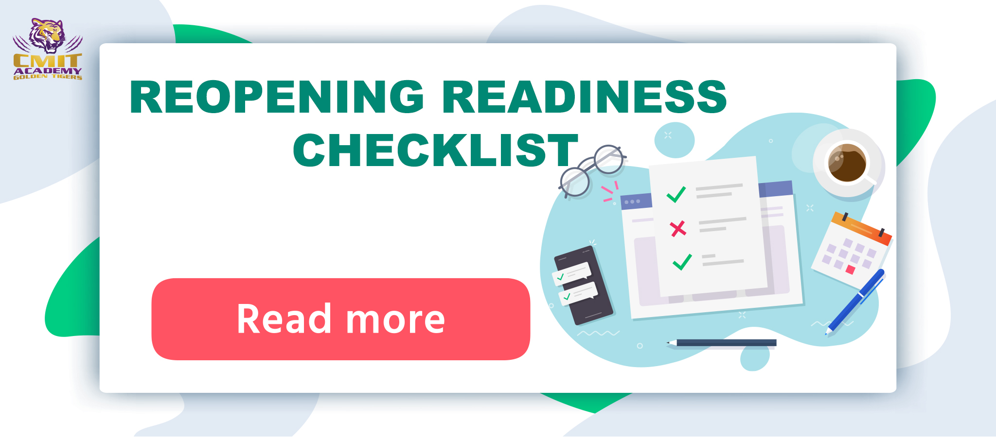 REOPENING READINESS CHECKLIST