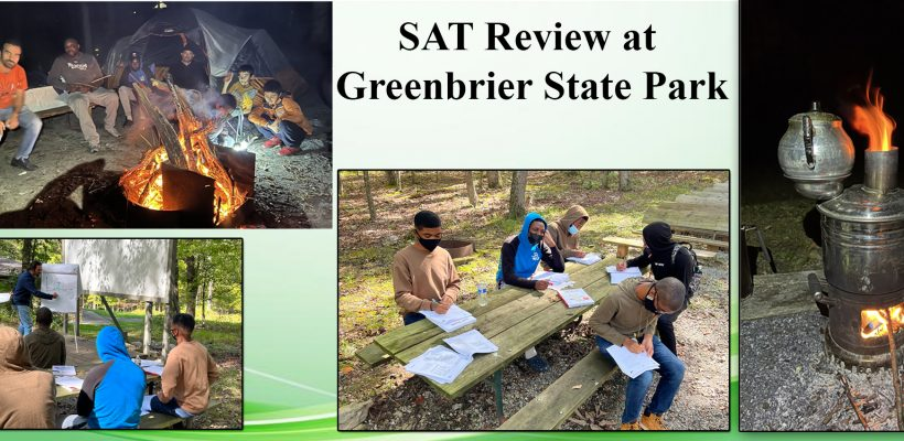 SAT Review at Greenbrier State Park