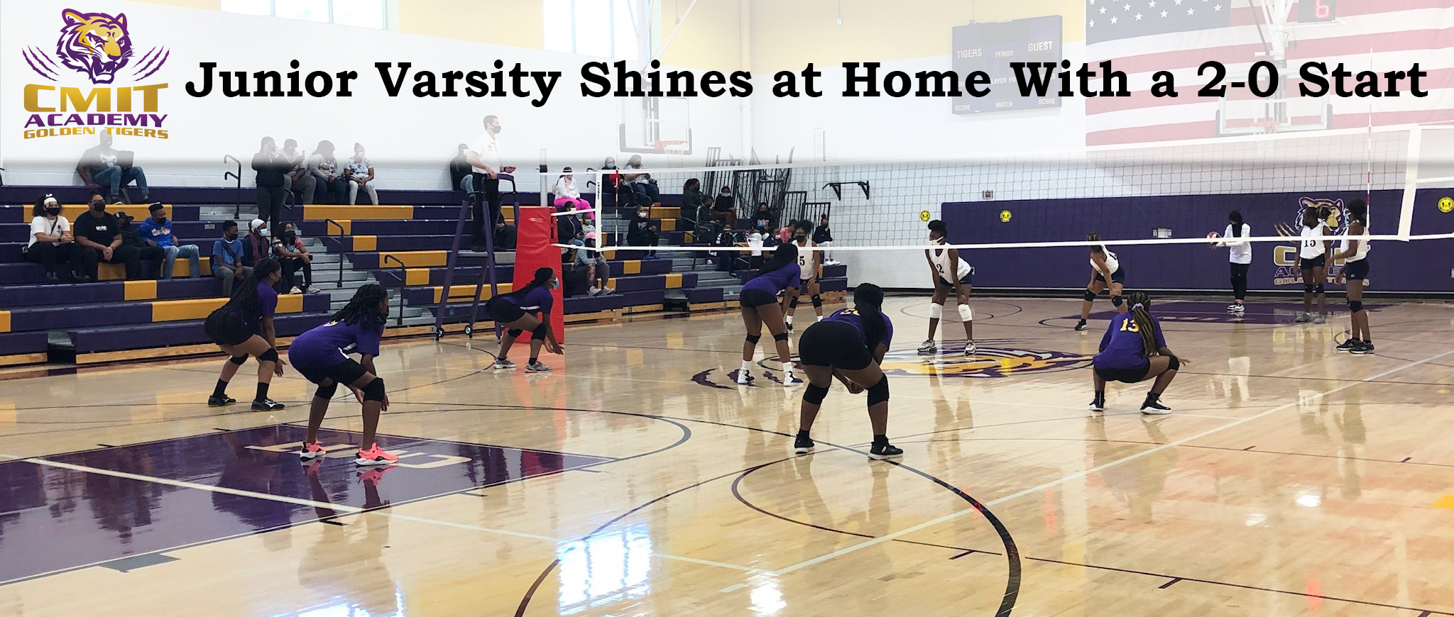 Junior Varsity Shines at Home With a 2-0 Start