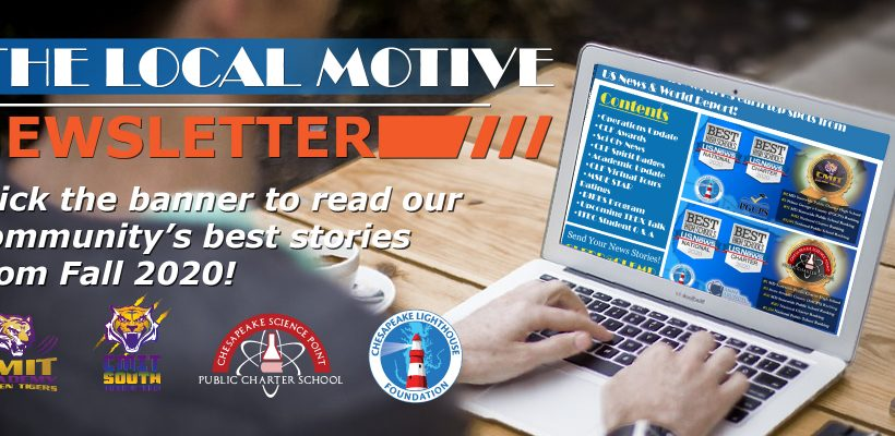 HOT OFF THE PRESS! CLF Local Motive Newsletter Fall Edition