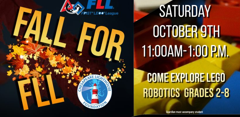 Fall for FLL!